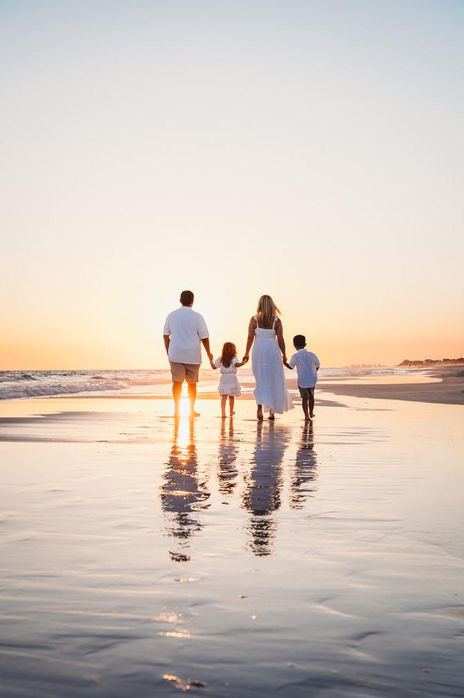 Meghan & Family | 30A Beach Portraits