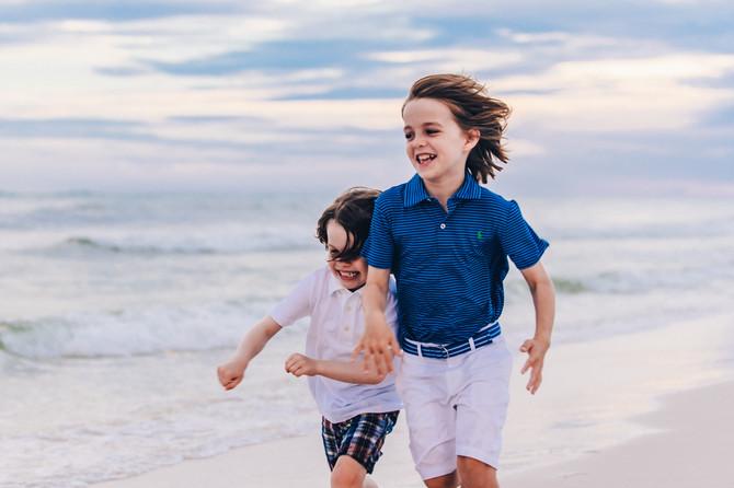Family Beach Portraits | 30A Photographers