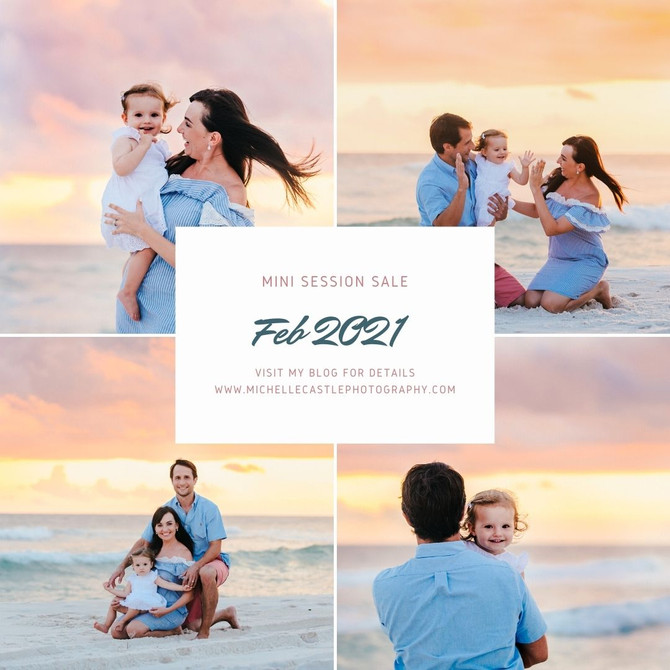 Family Mini Session Special!!!