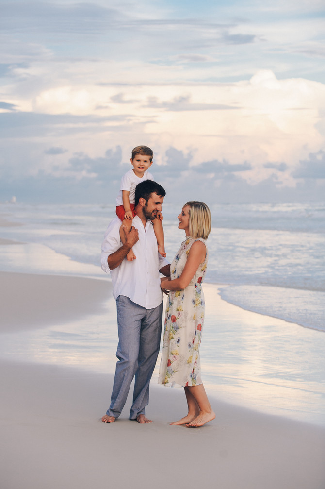 30A Family Beach Portraits