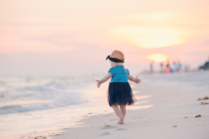 Sunset Mini Session | Santa Rosa Beach | 30A Photographer