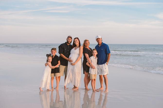 30A Family Beach Photos