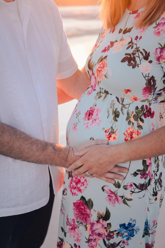 Seagrove Beach, FL a Maternity Session | 30A Photographer
