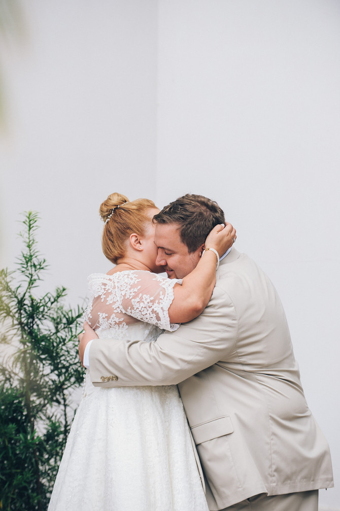 A First Look | Intimate Weddings | Destin, FL Photographers