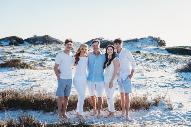 Elizabeth & Family | Grayton Beach State Park