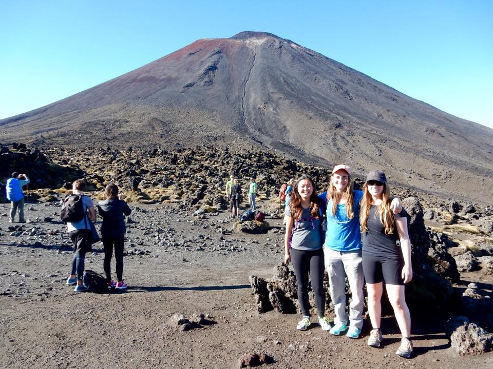 Visiting mount doom with friends