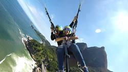 Voo de parapente no Rio de Janeiro