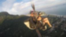 Venha fazer um voo duplo de parapente no Rio de Janeiro