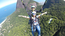 Voo duplo de Parapente no Rio de Janeiro