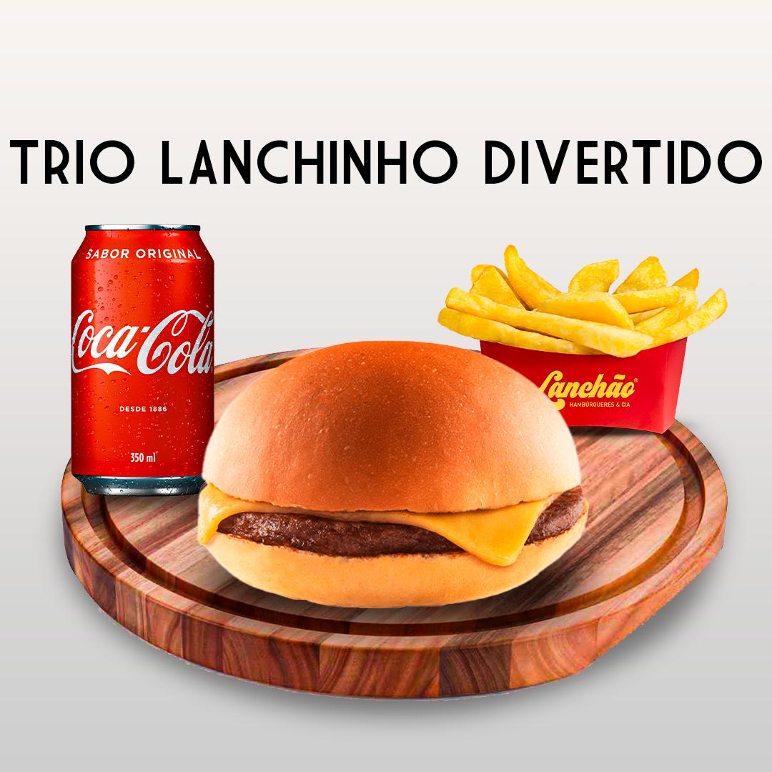 TRIO LANCHINHO DIVERTIDO