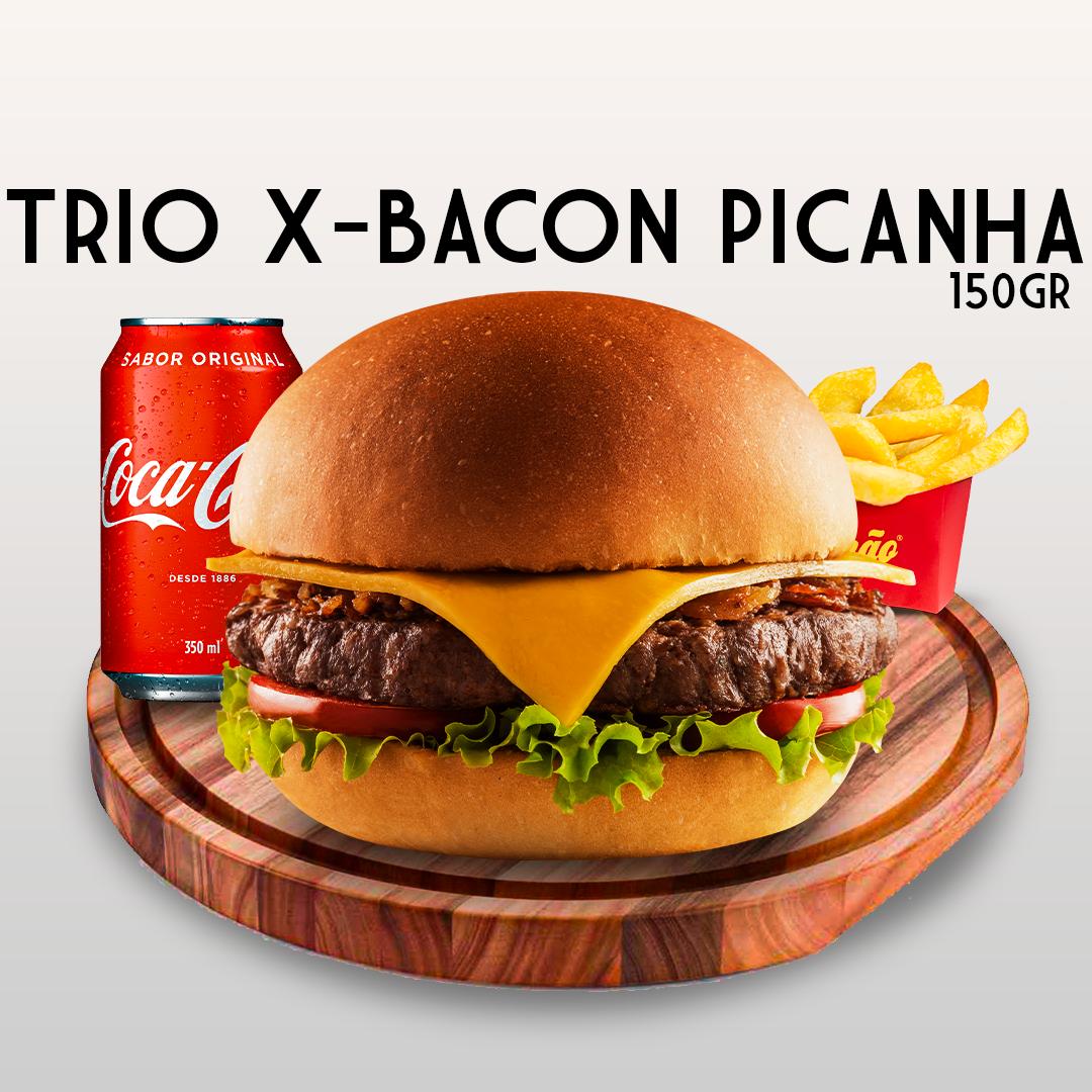 TRIO X-BACON PICANHA 150GR