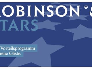 ROBINSON STARS - das neue Vorteilsprogramm