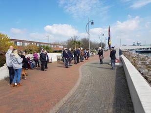 HMSAffray Memorial 19 April 2021