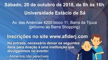 I Jornada AFIDERJ de Fisioterapia em Gerontologia dia 20/10/18