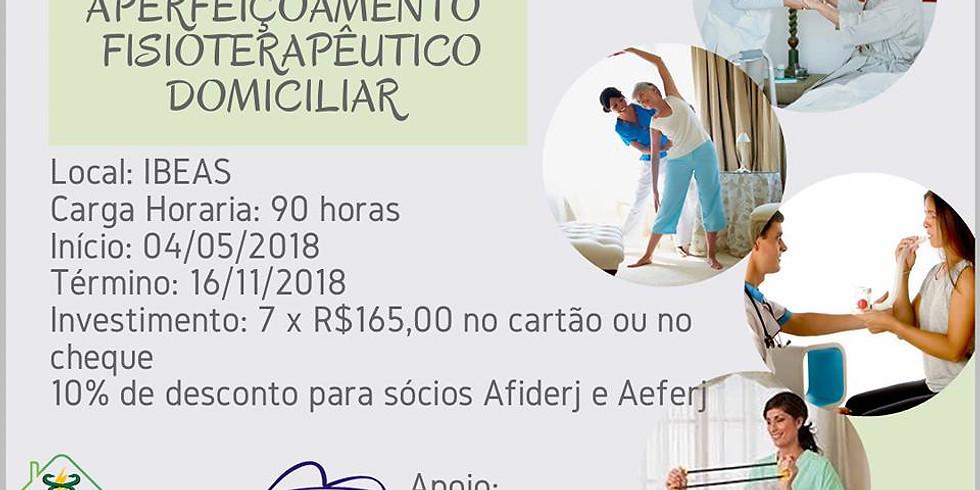 CURSO DE APERFEIÇOAMENTO FISIOTERAPÊUTICO DOMICILIAR