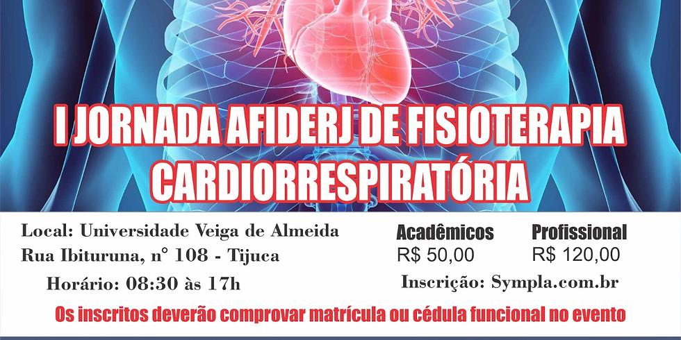 I JORNADA CARDIORRESPIRATÓRIA DA AFIDERJ