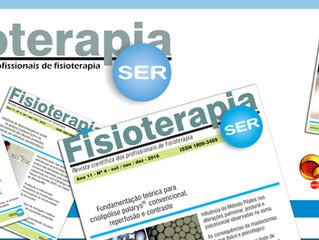 Mais um novo parceiro da AFIDERJ!! Revista Fisioterapia Ser.