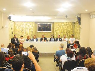 Debate Público discute situação de fisioterapeutas e terapeutas ocupacionais no Rio de Janeiro