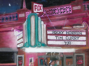 The Fox West Theatre by Carol Blatnick-Barros