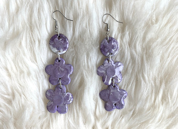 marbled blossom dangles