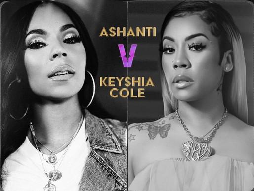 Keisha Cole VZ Ashanti Battle