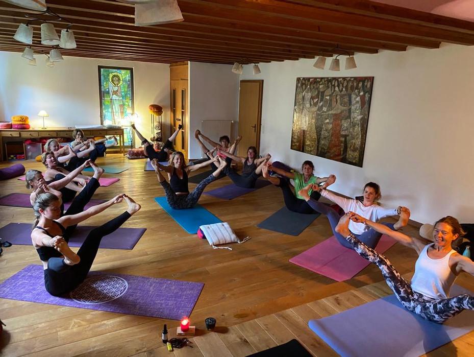 Yoga en Gruyère
