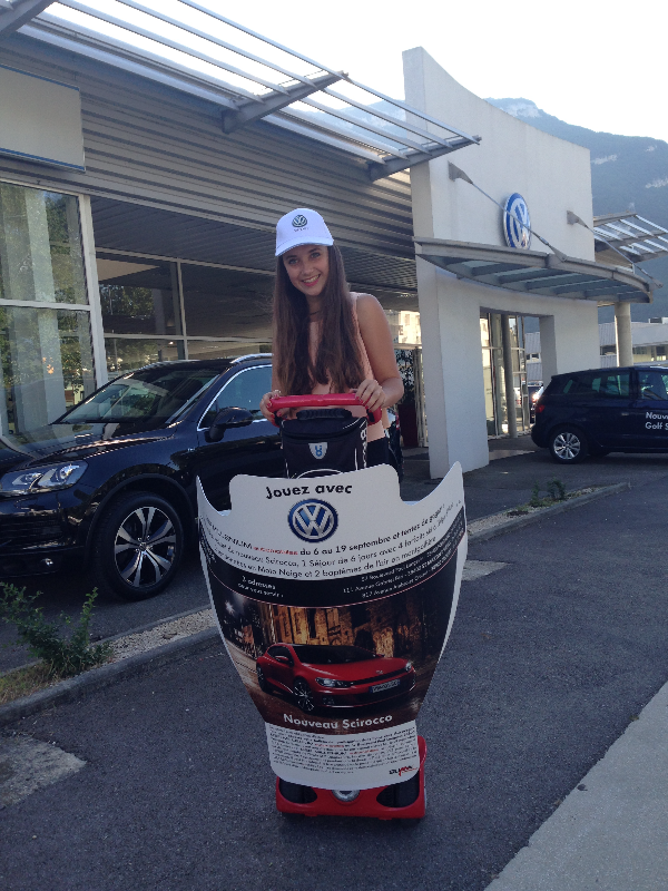 Street marketing distribution flyers