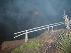 Appirition on Bisbee Steps