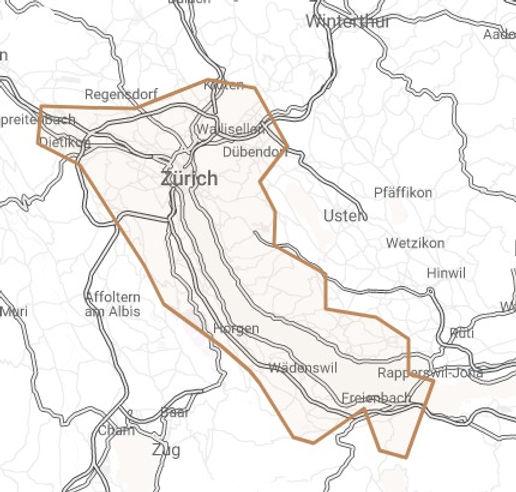 Zurich_cleaning_service_map_servicearea_