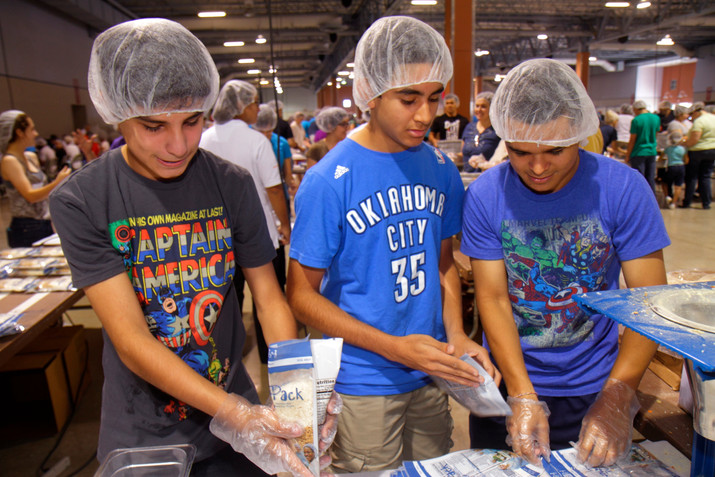 Help Your Teen Son Grow Up by Serving