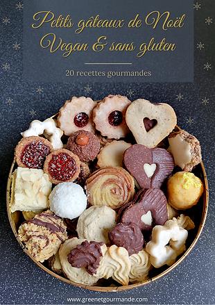 Petits gâteaux de Noël vegan & sans glut