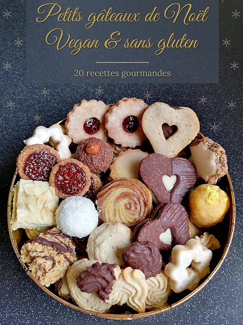 Ebook Petits gâteaux de Noël Vegan & sans gluten