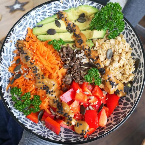 Bouddha Bowl Vegan #1