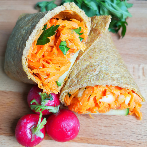 Pains à wraps ou tortillas sans gluten vegan