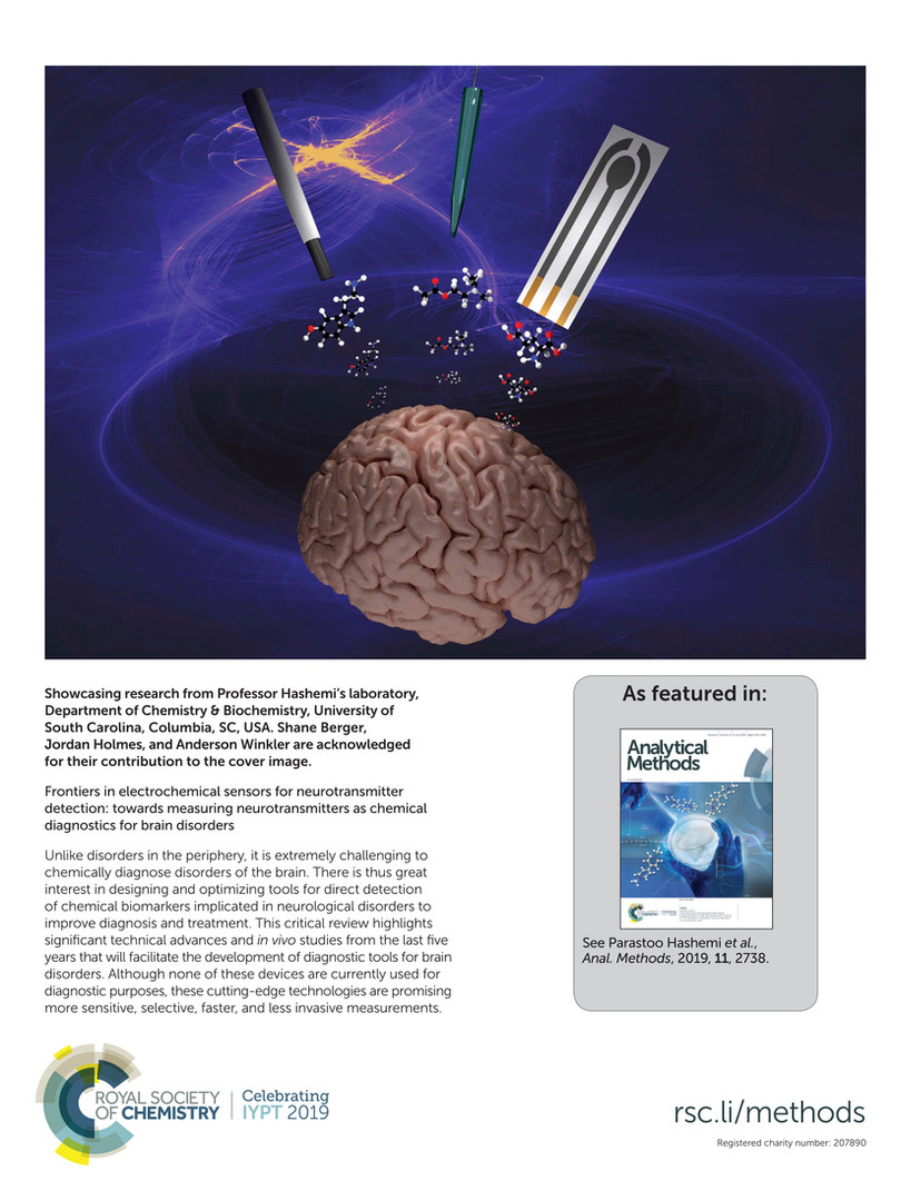 Frontiers in electrochemical sensors for neurotransmitter detection: towards measuring neurotransmitters as chemical diagnostics for brain disorders