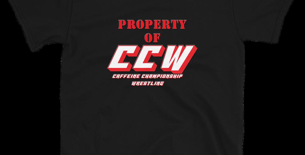 LyndonSG Property of CCW Short-Sleeve Unisex T-Shirt