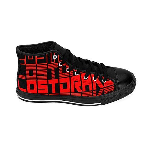 """LostDrake """"Spring and Repeat"""" Men's High-top Sneakers"""