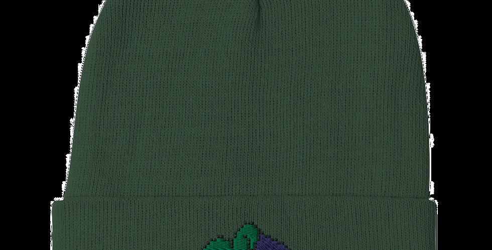 MisterJoker Logo Embroidered Beanie