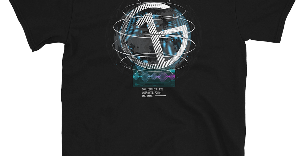 SixxZeroOne.EXE Short-Sleeve Unisex T-Shirt