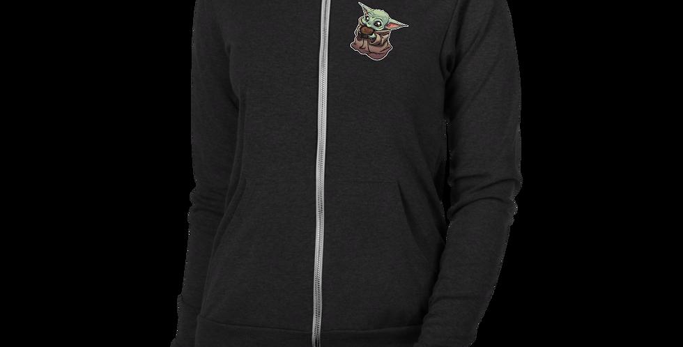 Java PWEASE Andy McFly Unisex zip hoodie
