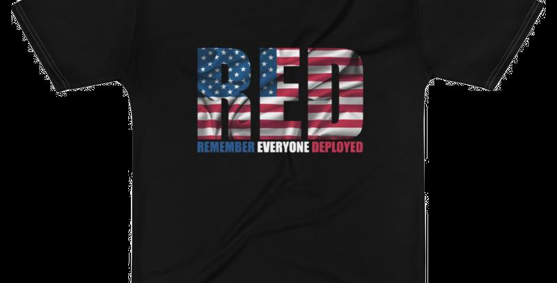 PlanBPlays RED Flag Men's Poly T-Shirt