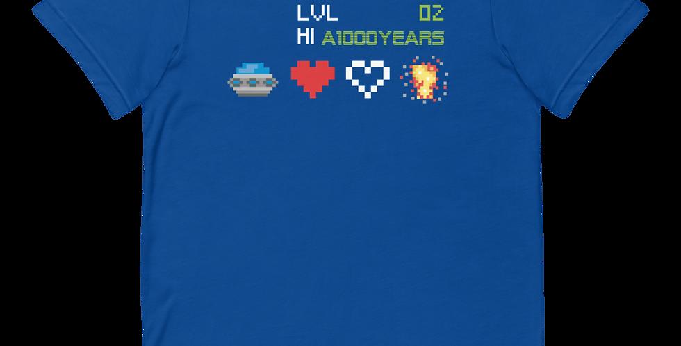 A 1000 Years Lvl 2 Short-Sleeve Unisex T-Shirt