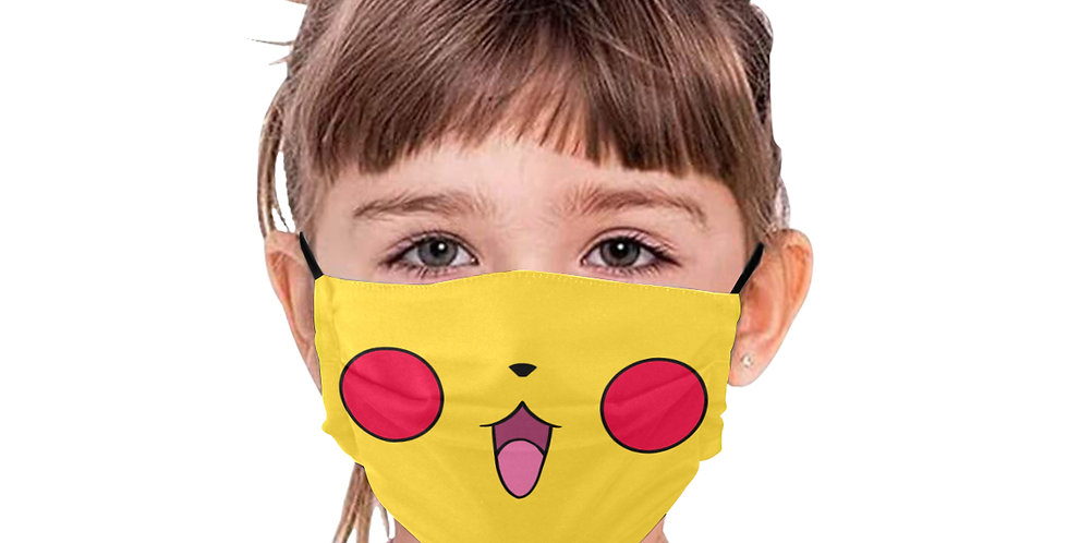"BE SAFE ""PIKAPIKA"" MASK Design by Andy McFly"