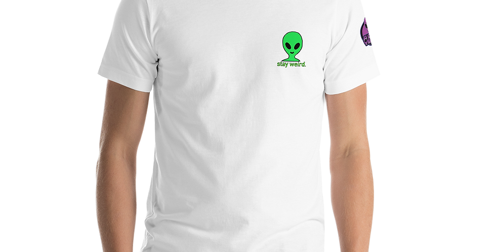 a1000years Stay Weird Short-Sleeve Unisex T-Shirt