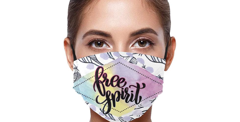 "BE SAFE ""FREE SPIRIT"" MASK Design by Harusita"