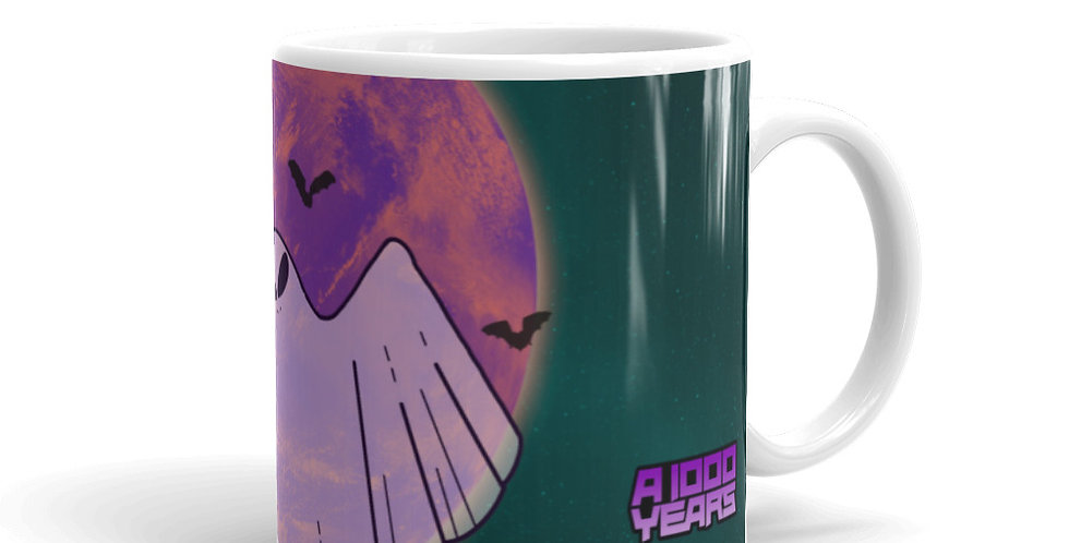 Spooky a1000years Spectral Space Mug