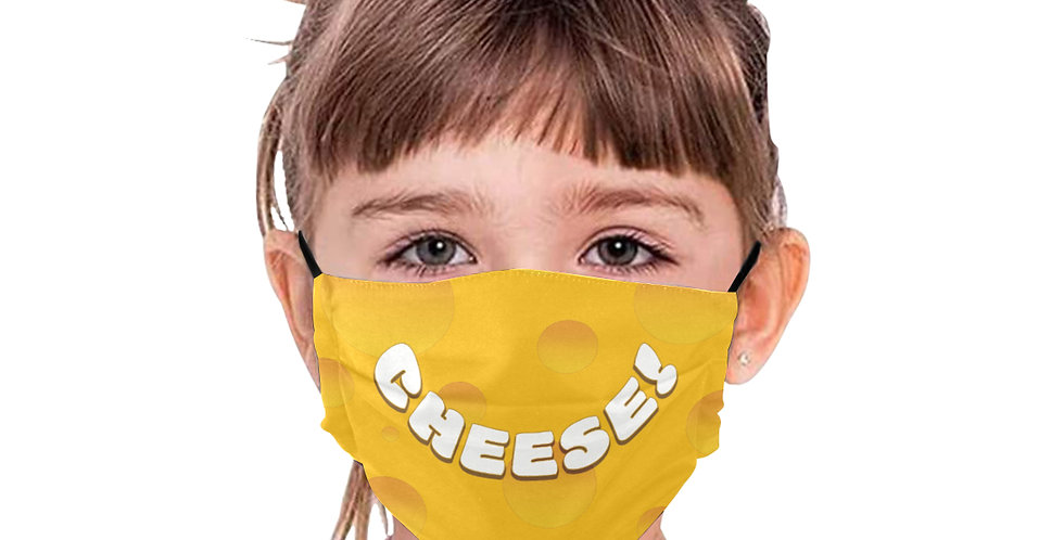 """BE SAFE """"CHEESE"""" MASK Design by MargoMagik"""