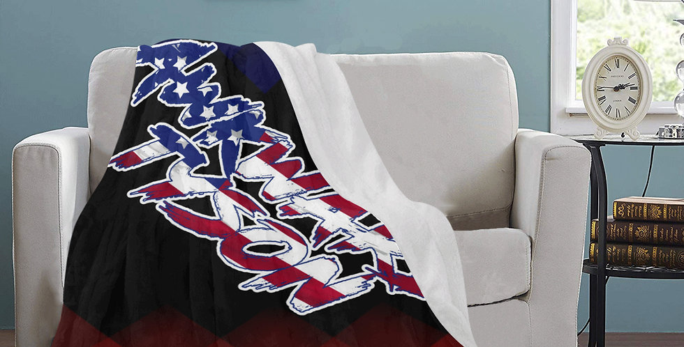 Awkward Tyson Logo Blanket