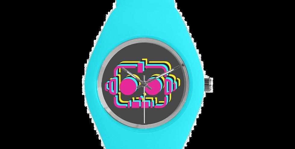 RobotGiggles CMYK Silicone Watch