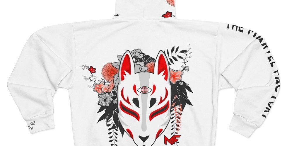 MF Kitsune Design by: Harusita Unisex Zip Hoodie